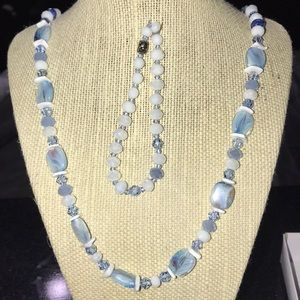 Glass Bead Jewelry Set